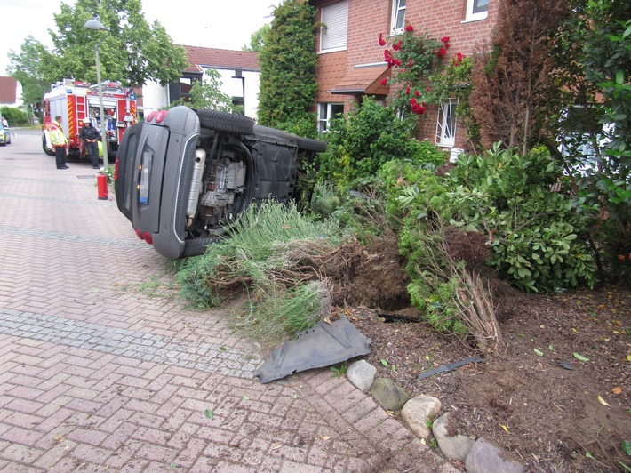 Unfall in Spielstraße